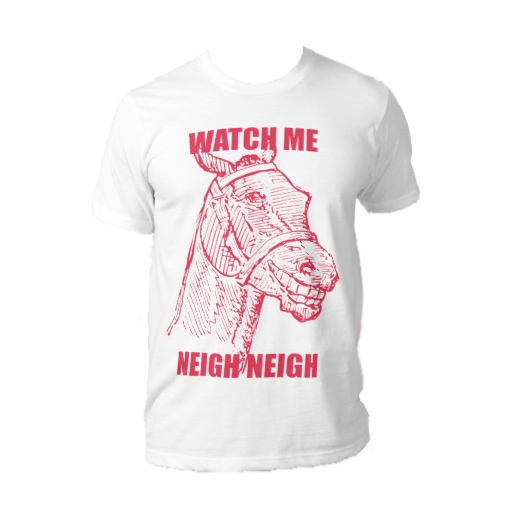 Watch Me Neigh Neigh T-Shirt – Pink